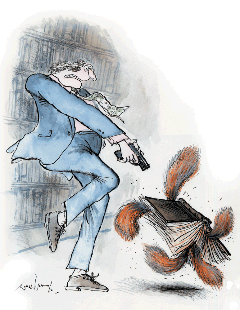 Slightly Foxed Issue 4, Ronald Searle, 'Foxed throughout'