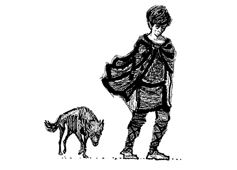 Charles Keeping, Dawn Wind - David Gilmour on Rosemary Sutcliff, The Lantern Bearers - Slightly Foxed Issue 4