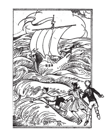 The Voyage of the Dawn Treader - Sarah Crowden, C. S. Lewis - Slightly Foxed Issue 12