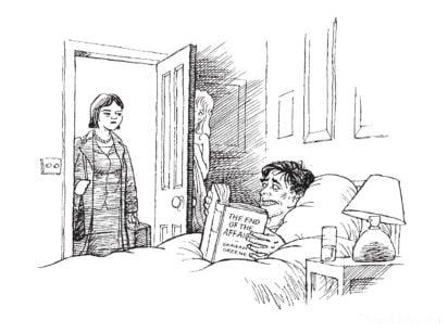 Daniel Macklin illustration - Frances Wood, Slightly Foxed Issue 20