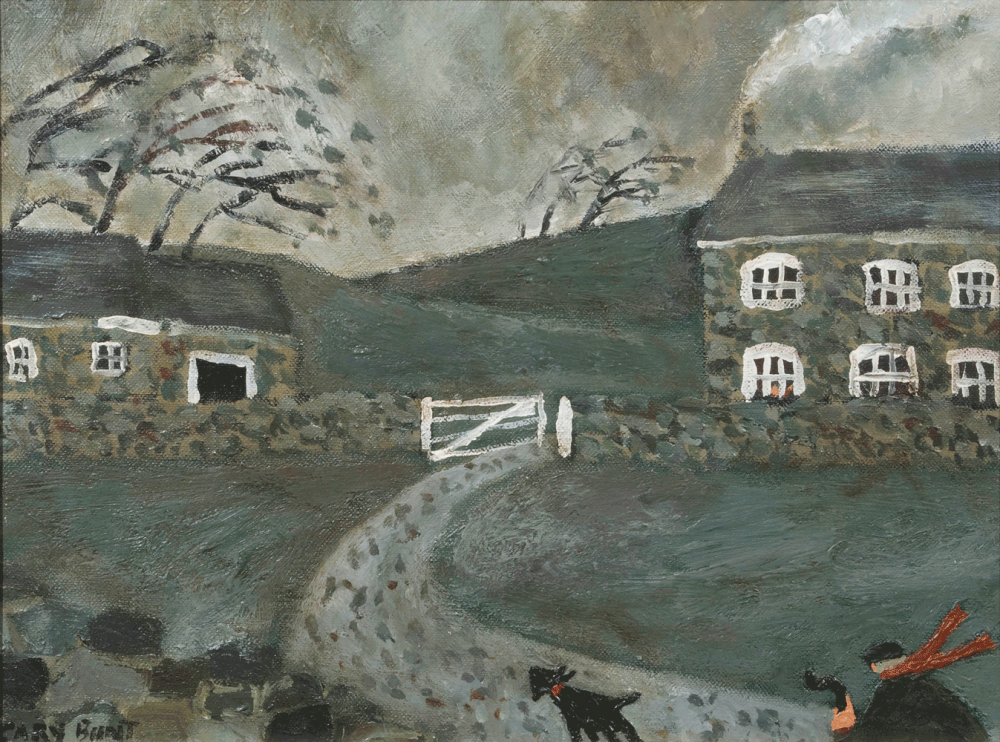 Cover Art: Slightly Foxed Issue 23, Gary Bunt, 'Home'