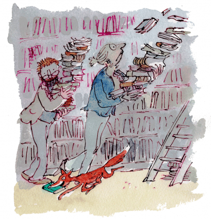 Cover Art: Slightly Foxed Issue 24, Quentin Blake, 'Slightly Foxed'