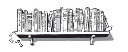 Robin Knight on contemplating and curating bookshelves - Slightly Foxed Issue 25