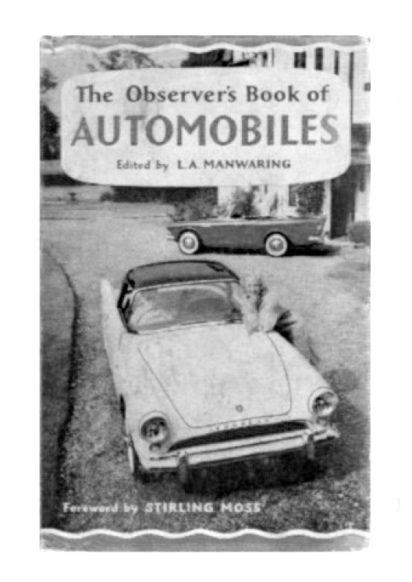 Laurence Scott on the Observer's Book of Automobiles