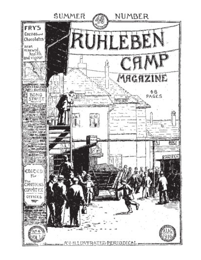 Trilby Kent on Geoffrey Pyke, To Ruhleben – And Back: A Great Adventure in Three Phases