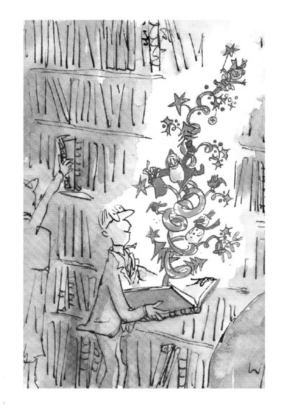 Quentin Blake    Richard Conyngham on the London Library