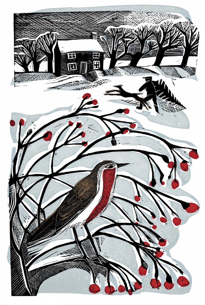 Cover Art: Slightly Foxed Issue 36, Angela Harding, 'Bringing Back the Tree'