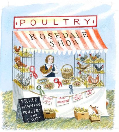 Cover Art: Slightly Foxed Issue 38, Emily Sutton, 'Country Show'