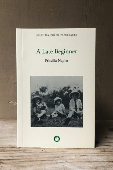 Priscilla-Napier-A-Late-Beginner---Slightly-Foxed-Paperback