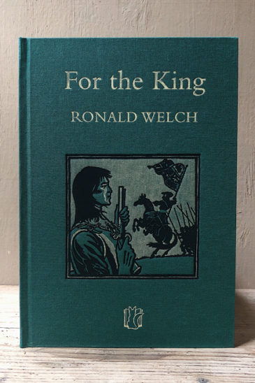 Ronald Welch For the King Slightly Foxed Cubs
