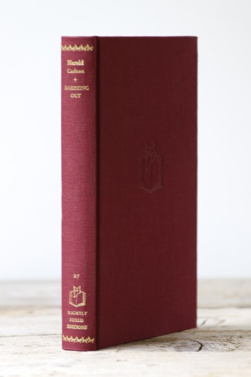 SLIGHTLY FOXED EDITIONS No. 27 MARRYING OUT Harold Carlton (first published as The Handsomest Sons in the World)