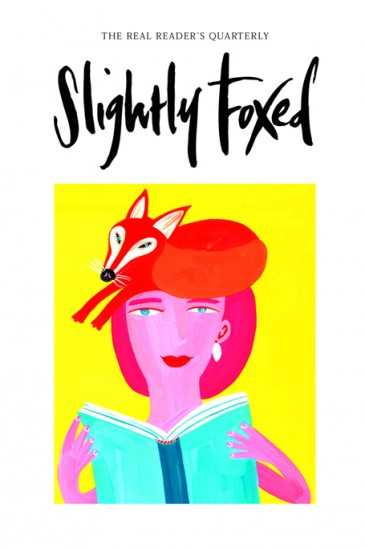 Cover Artwork, Christopher Corr - Slightly Foxed Issue 1