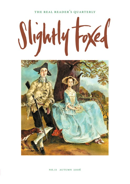 Slightly Foxed Issue 11