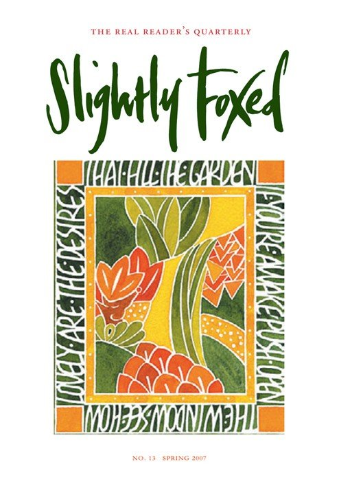 Slightly Foxed Issue 13