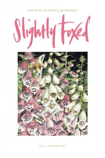 Cover artwork, Simon Dorrell - Slightly Foxed Issue 14