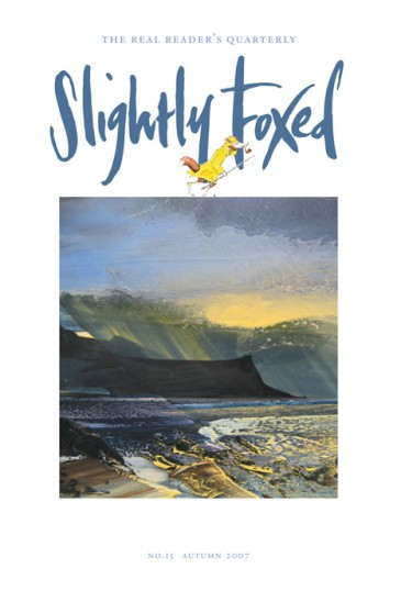 Loch Eishort, oil on canvas, Shazia Mahmood - Slightly Foxed Issue 15