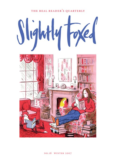 Slightly Foxed Issue 16