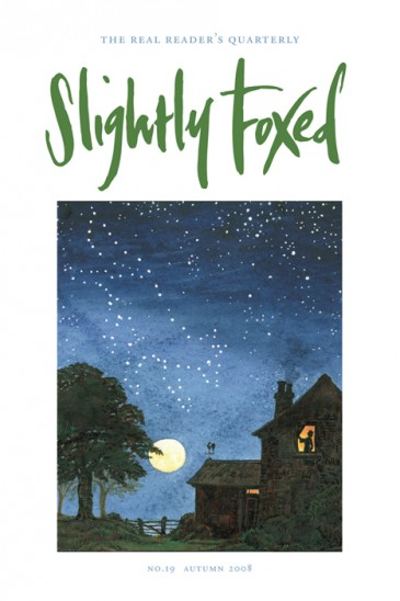 Vulpes Major, Daniel Macklin - Slightly Foxed Issue 19