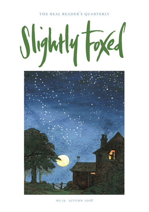 Slightly Foxed Issue 19