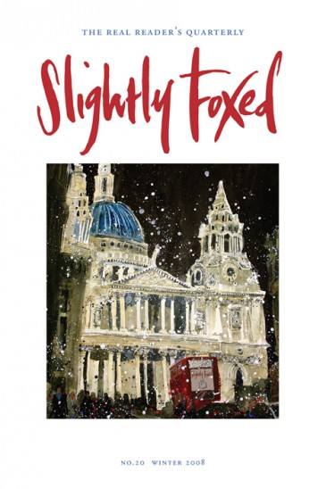 't Paul's, Susan Brown - Slightly Foxed Issue 20