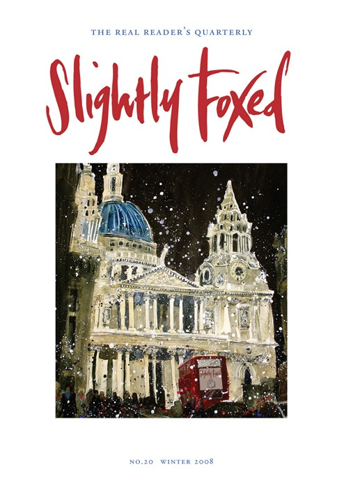 Slightly Foxed Issue 20