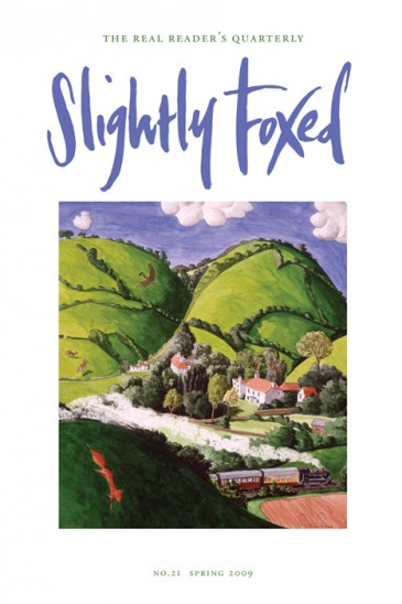 Fox and Steam Train, Dart Valley, Francis Farmar - Slightly Foxed Issue 21