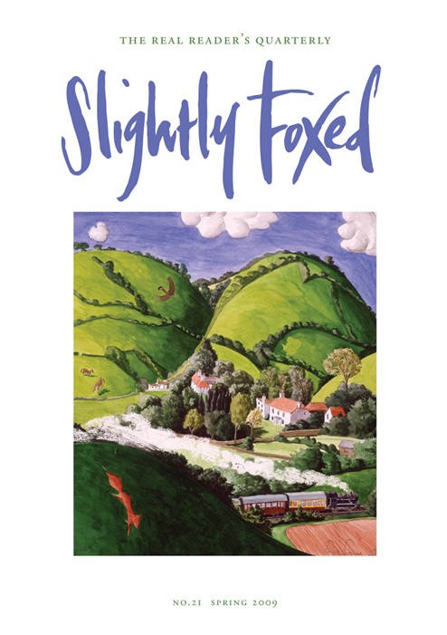 Slightly Foxed Issue 21