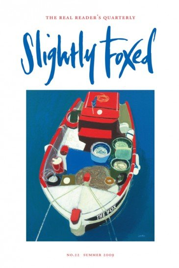Greek Boat, Simon Laurie - Slightly Foxed Issue 22
