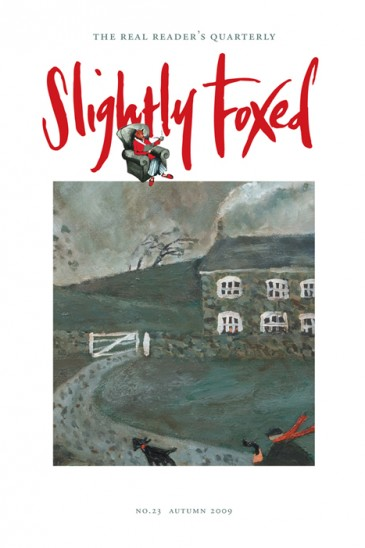 Home, Gary Bunt - Slightly Foxed Issue 23