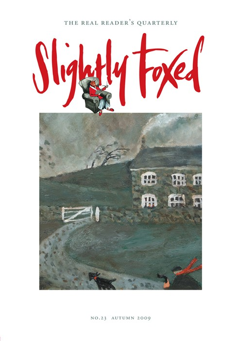 Slightly Foxed Issue 23