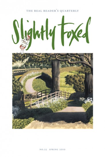 Braithwaite Lane, detail, Simon Palmer - Slightly Foxed Issue 25