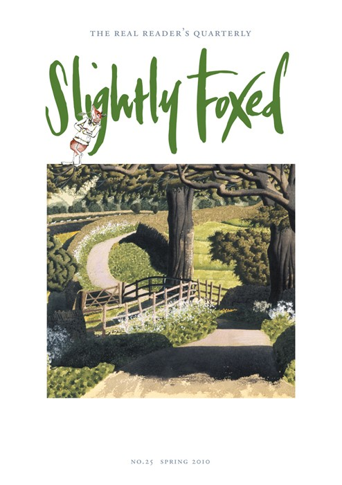Slightly Foxed Issue 25