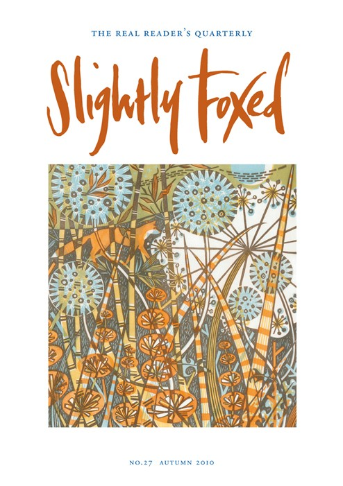Slightly Foxed Issue 27