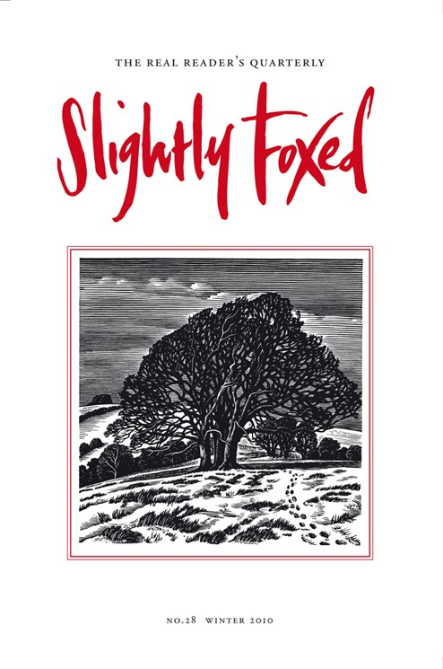 Slightly Foxed Issue 28