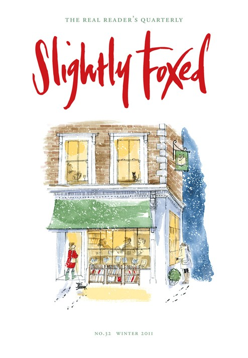 Slightly Foxed Issue 32