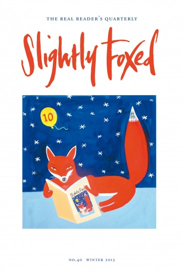 Slightly Foxed Issue 40, Chris Corr, 'Now We Are Ten' Christopher Corr's painting is inspired by his travels around the globe. Vivid colours and city scenes are what excite him. Recent commissions include a series of portraits of the Shard for the Shard, paintings about fish for the restaurant Kensington Place in Notting Hill and book illustrations for the Folio Society and Andersen Press. More examples of his work can be seen atwww.christophercorr.com and www.rowleygallery.com