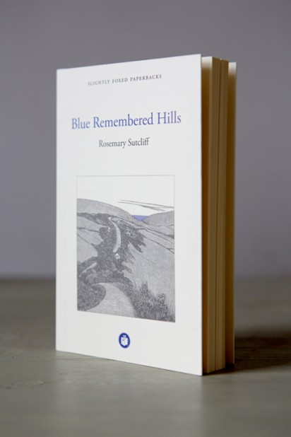 Slightly Foxed Paperback Rosemary Sutcliff, Blue Remembered Hills