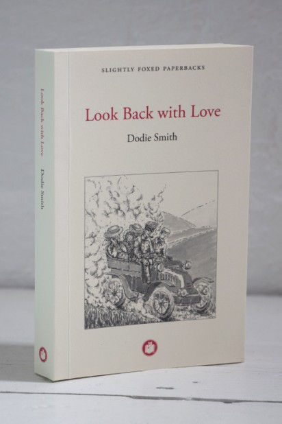 Slightly Foxed Paperback Dodie Smith, Look Back with Love
