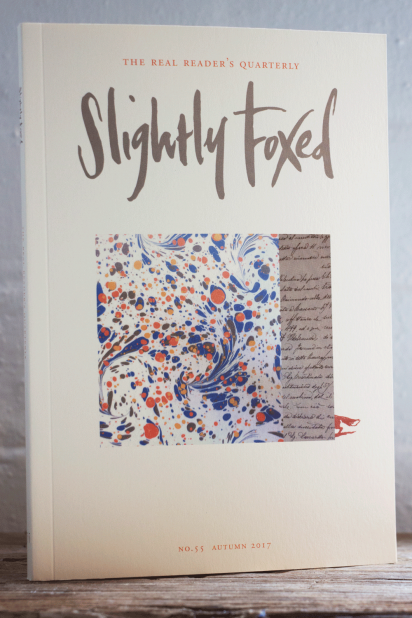 Slightly Foxed Issue 55, Autumn 2017
