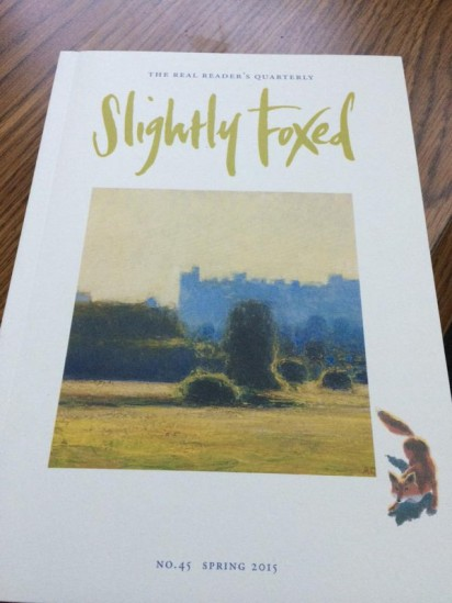 slightly foxed spring
