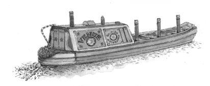 Anna Trench illustration - Paul Atterburyon Emma Smith, Maidens' Trip