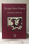Ronald Welch Escape from France Slightly Foxed Cubs