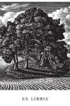Howard Phipps Bookplates - Cranborne Chase – Wood Engraving
