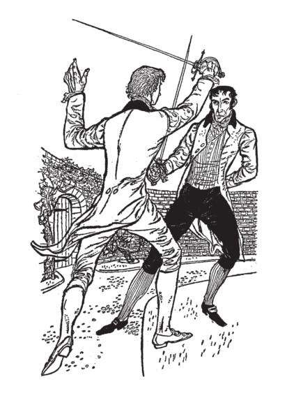William Stobbs illustration - Ronald Welch, Escape from France