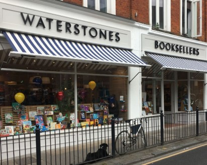 Waterstones Crouch End, Slightly Foxed Stockist