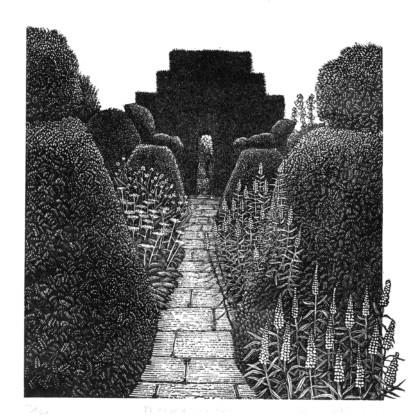 Geri Waddington, Peacock Garden. Alexandra Harris on Katherine Swift