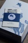 Personalized bookplates in presentation box