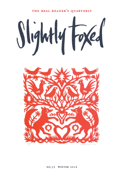 Slightly Foxed Issue 52