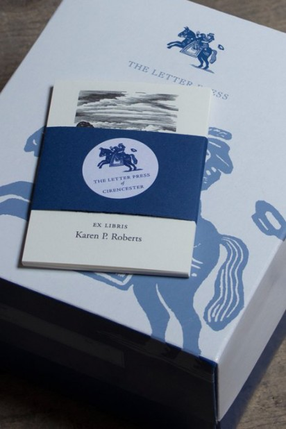 Sample Finished Bookplates in Presentation Box
