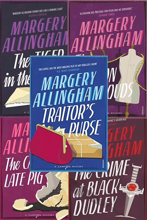 Set of Five Campion Novels